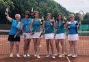 Tennisdamen sind Meister geworden