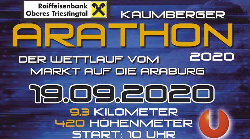 Berglauf Arathon 2020 abgesagt